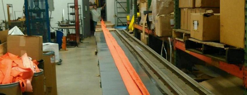 Amick Associates, Inc. Builds Our First 75 Foot+ Round Sling