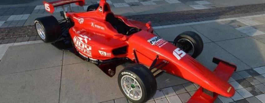 Wheel and Wing Tether Contract Awarded to ARCR for the 2015 Indy Lights IL-15 Chassis