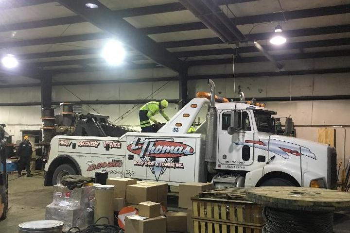 Amick Associates, Inc. Tow Truck Cabling Services