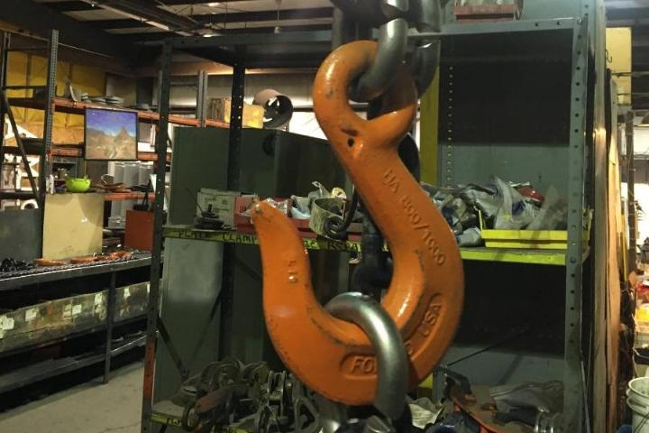 GRADE 1000 ALLOY CHAIN SLING FABRICATION WELDED AND MECHANICAL