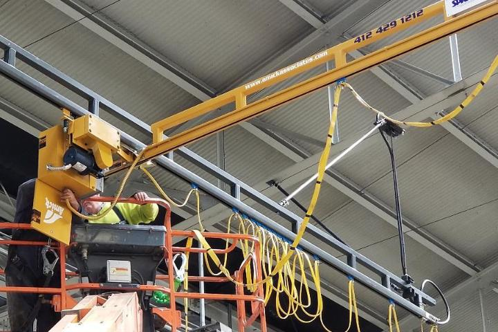 Amick Light and Heavy Crane and Hoist Installations