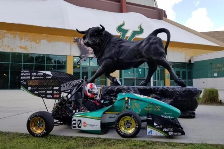 Thanks to USF Formula SAE and Dallara, US., Amick Booth Planning has begun for PRI 2018